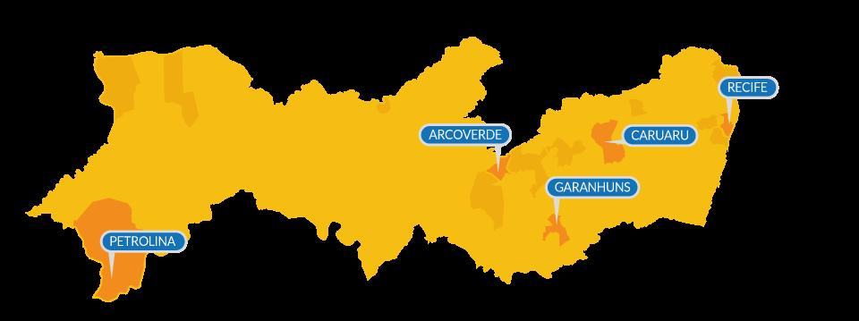 Localização do Banco de Alimentos