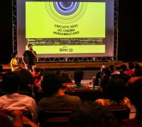 Foto de Fernando Pereira - outubro -Petrolina - circuito Sesc do cinema Pernambucano