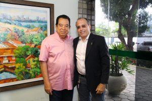Josias Albuquerque e Hélio Fonseca