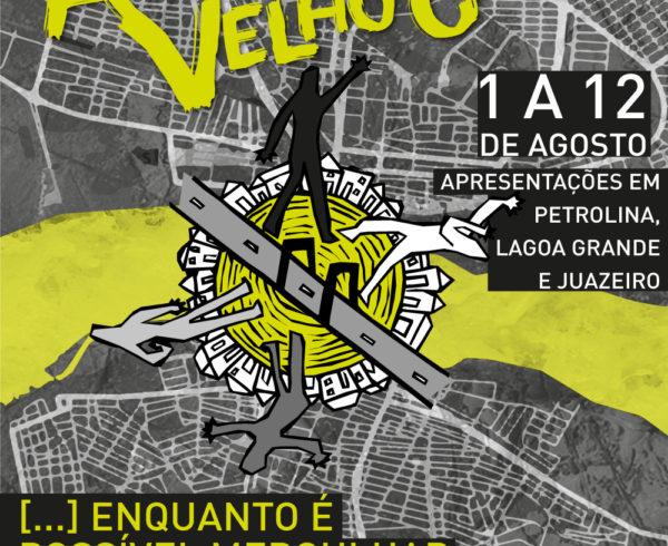 Cartaz Aldeia Velho Chico Evento Sesc Petrolina