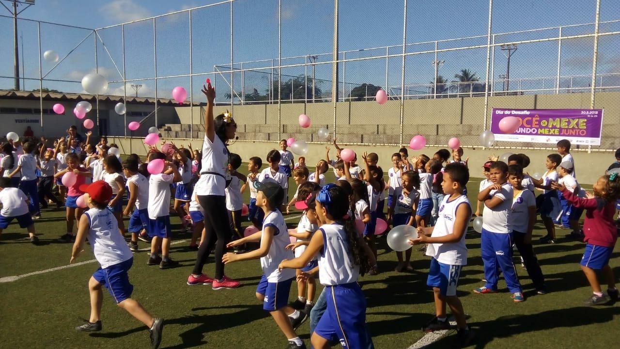 c43879344bf6 Sesc promove o Dia do Desafio com atividades esportivas em Goiana