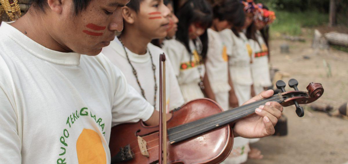 Grupo Teko Grarani- Mbya Guarani -foto Xadalu
