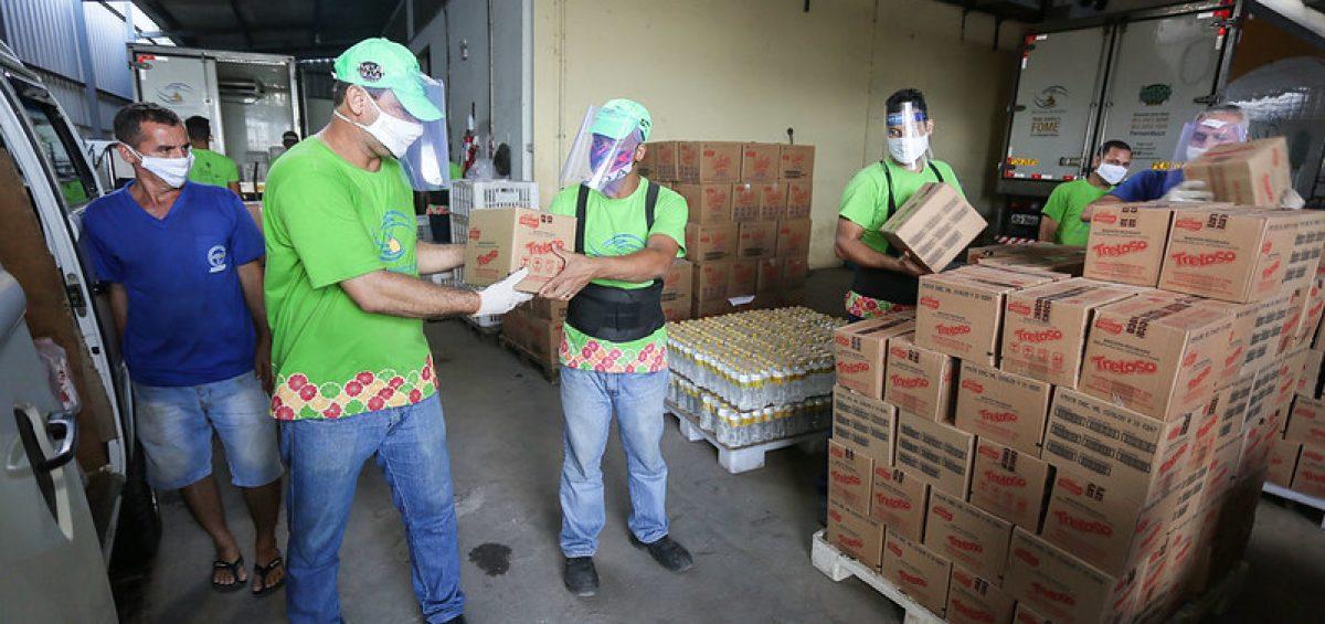 Banco de alimentos - foto MakerMídia