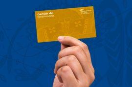 cartão do empresário